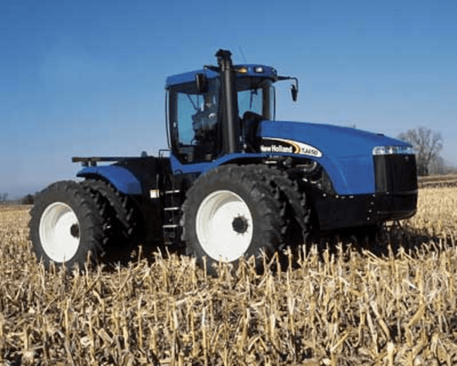 4WD Articulated Ag Tractors