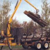Log Loaders (Trailer-Mounted)
