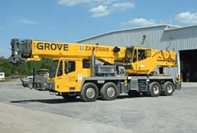 Self-Propelled Cranes