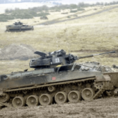 Tracked Military Vehicles